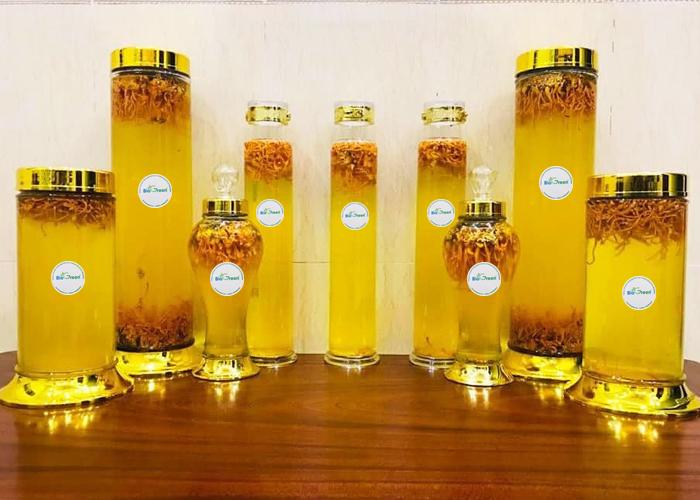 Công thức ngâm rượu cùng dược liệu nấm quý đúng chuẩn
