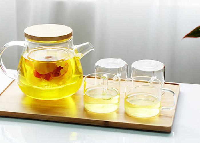 Trà hoa vàng Biogreen pha thơm ngon và cực kì bổ dưỡng
