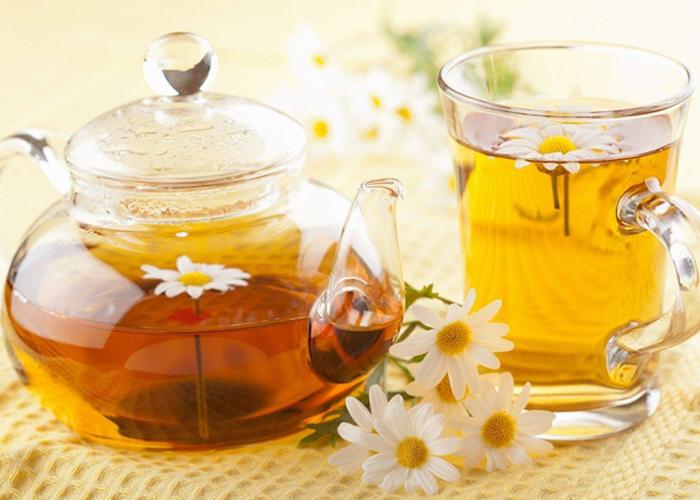 Trà hoa cúc quế tốt cho da và hạ kí hiệu quả
